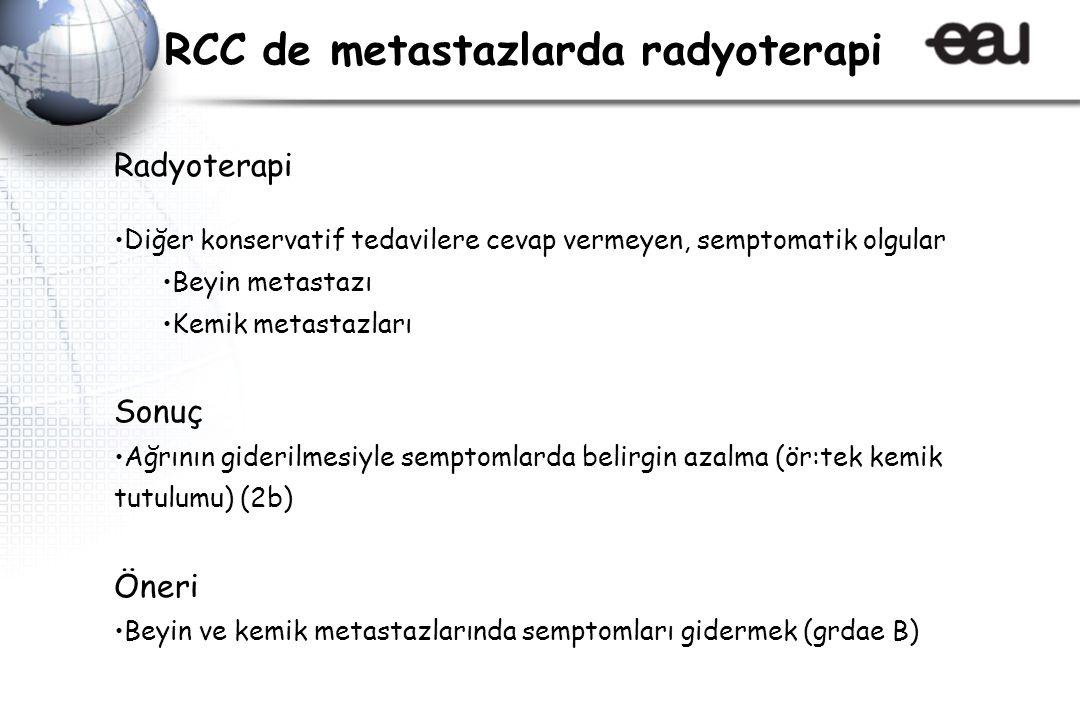 RCC de metastazlarda radyoterapi