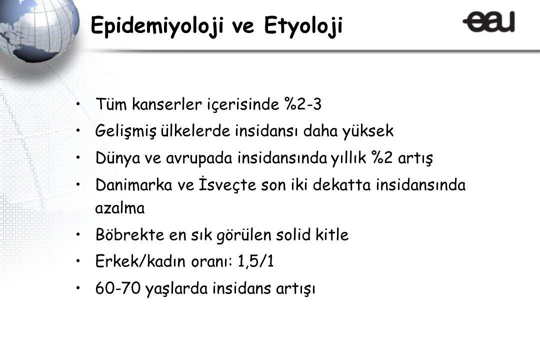 Epidemiyoloji ve Etyoloji