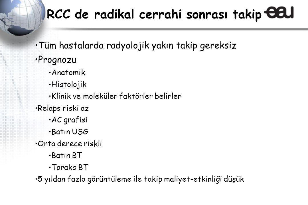 RCC de radikal cerrahi sonrası takip