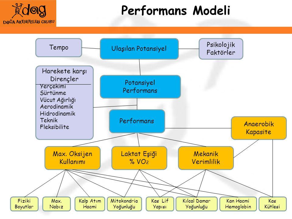 Performans Modeli Tempo Ulaşılan Potansiyel Psikolojik Faktörler