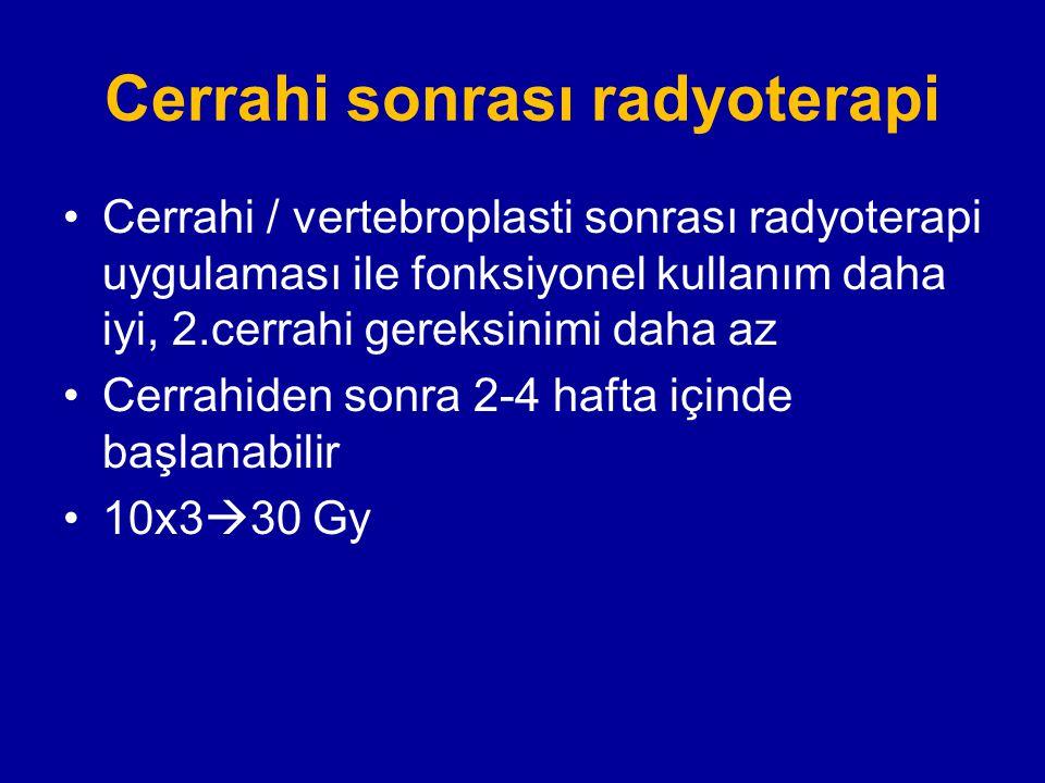Cerrahi sonrası radyoterapi