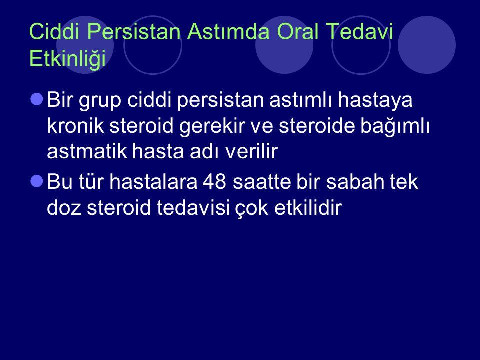 Ciddi Persistan Astımda Oral Tedavi Etkinliği