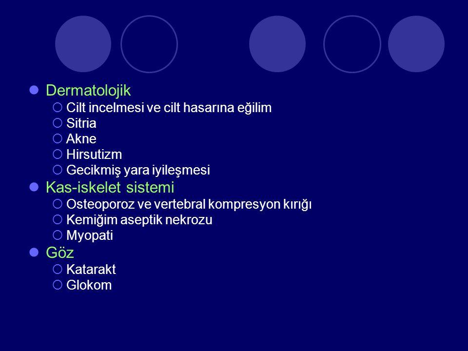 Dermatolojik Kas-iskelet sistemi Göz