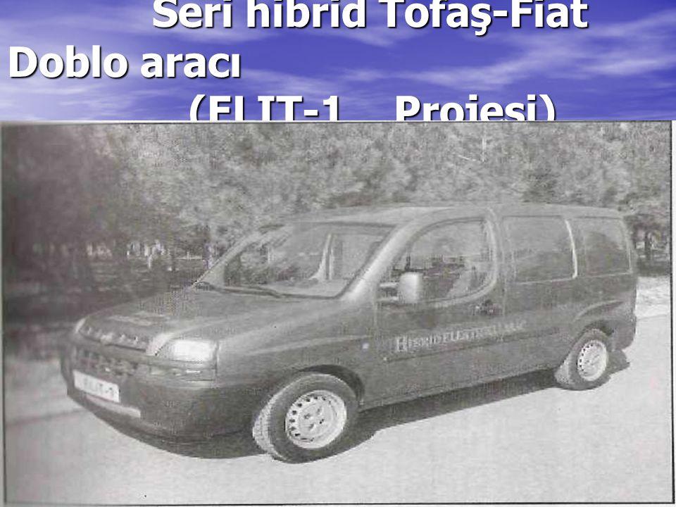 Seri hibrid Tofaş-Fiat Doblo aracı (ELIT-1 Projesi)