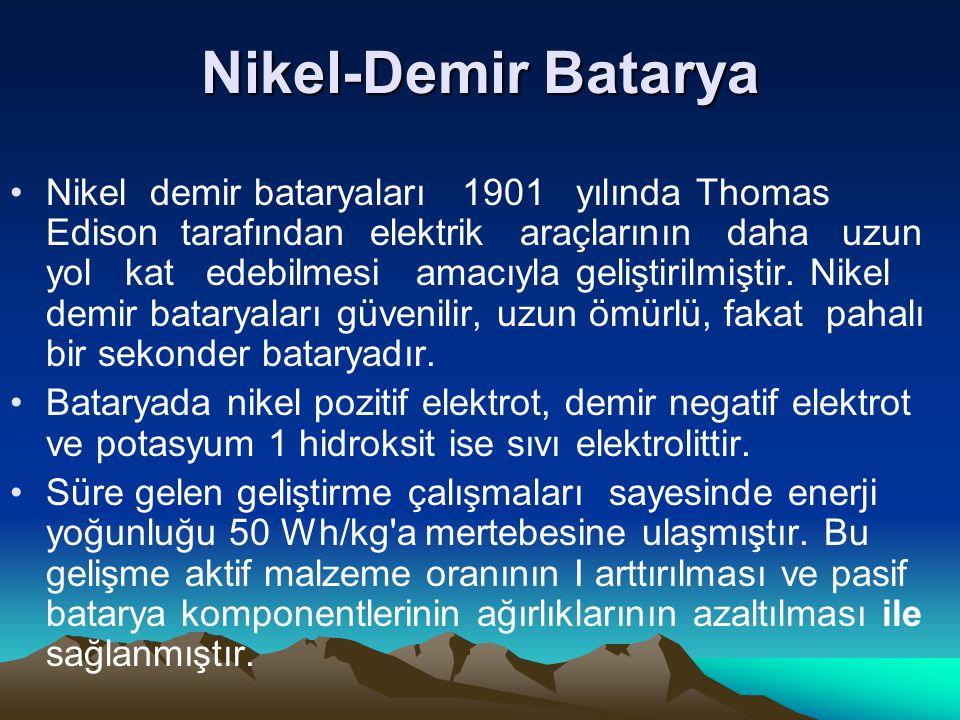 Nikel-Demir Batarya