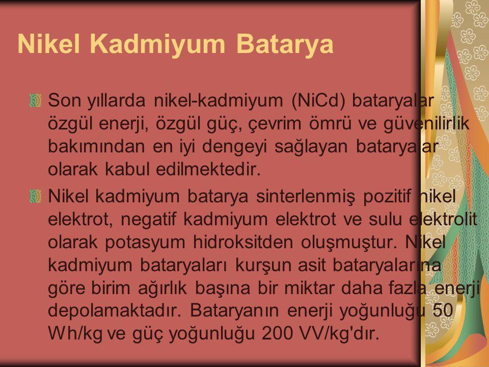 Nikel Kadmiyum Batarya