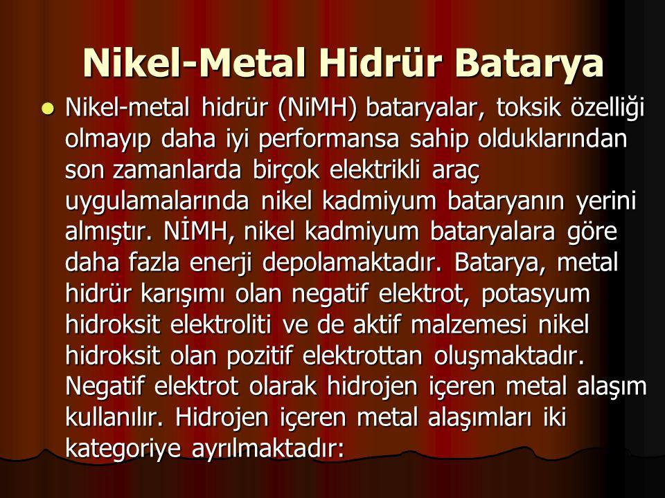 Nikel-Metal Hidrür Batarya