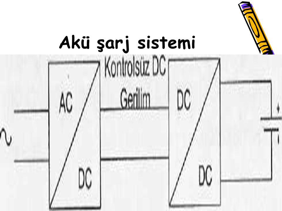 Akü şarj sistemi