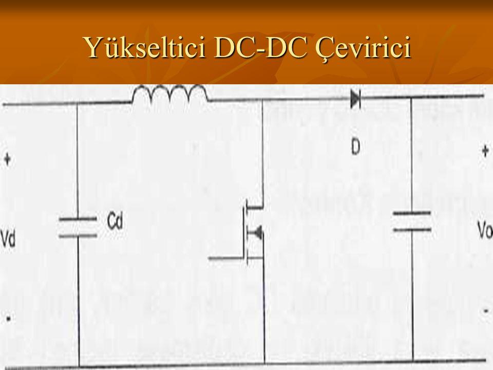 Yükseltici DC-DC Çevirici