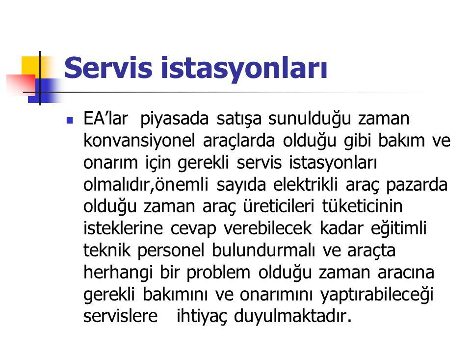 Servis istasyonları