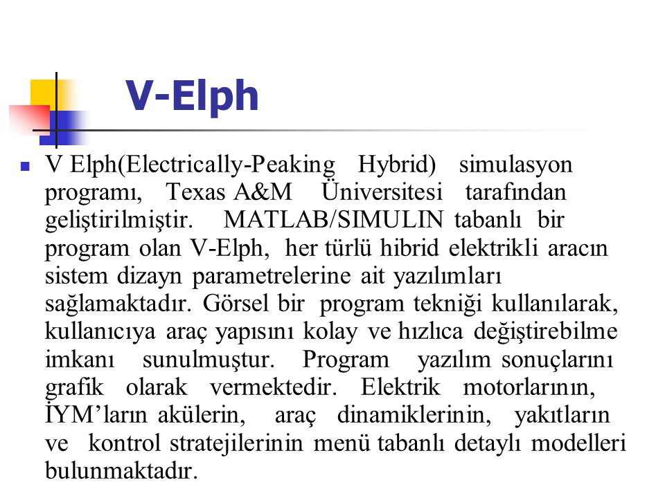 V-Elph