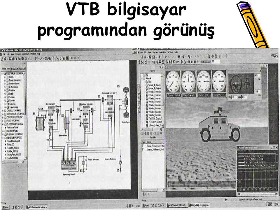 VTB bilgisayar programından görünüş
