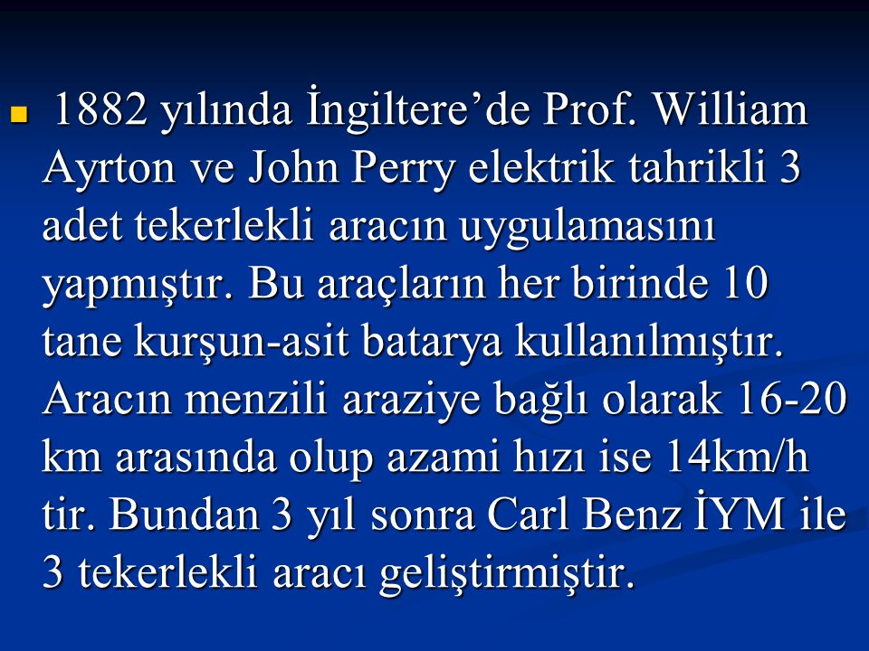 1882 yılında İngiltere'de Prof