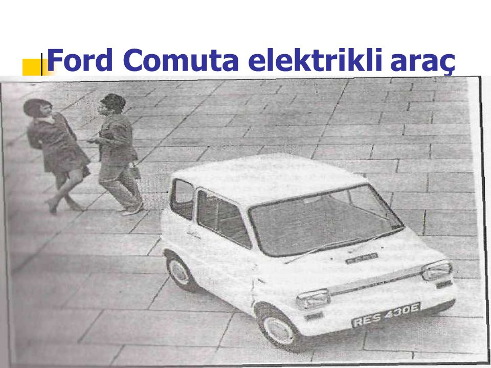 Ford Comuta elektrikli araç