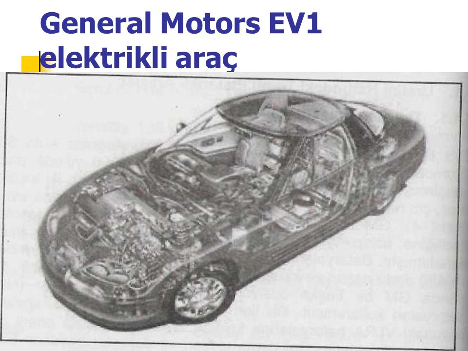 General Motors EV1 elektrikli araç