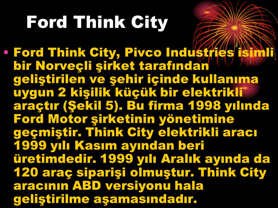 Ford Think City