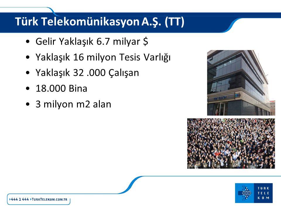 Türk Telekomünikasyon A.Ş. (TT)