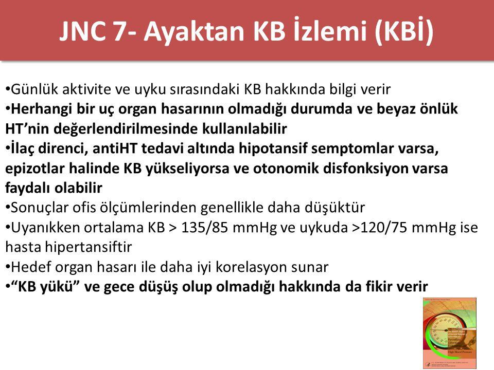 JNC 7- Ayaktan KB İzlemi (KBİ)