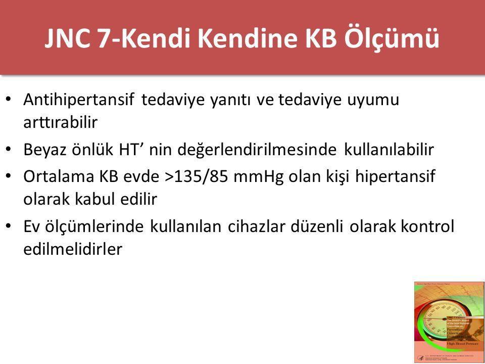 JNC 7-Kendi Kendine KB Ölçümü