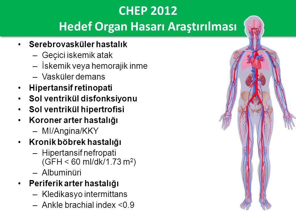 CHEP 2012 Hedef Organ Hasarı Araştırılması