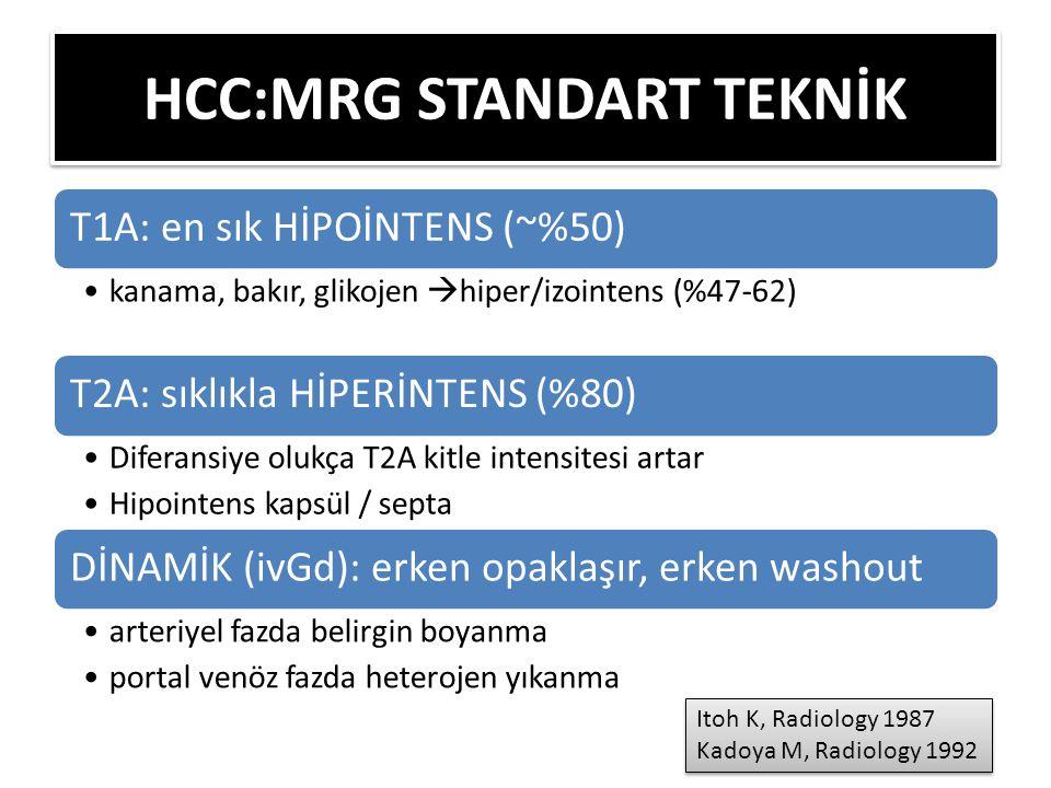 HCC:MRG STANDART TEKNİK