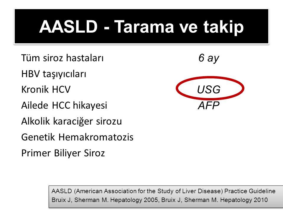 AASLD - Tarama ve takip