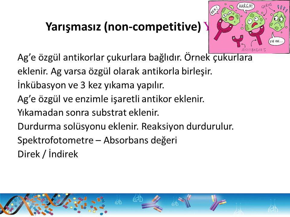 Yarışmasız (non-competitive) Yöntem