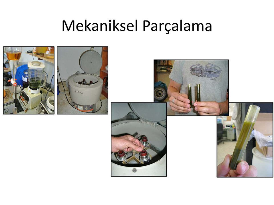 Mekaniksel Parçalama