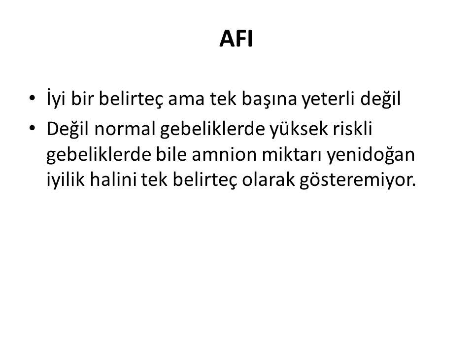 AFI İyi bir belirteç ama tek başına yeterli değil