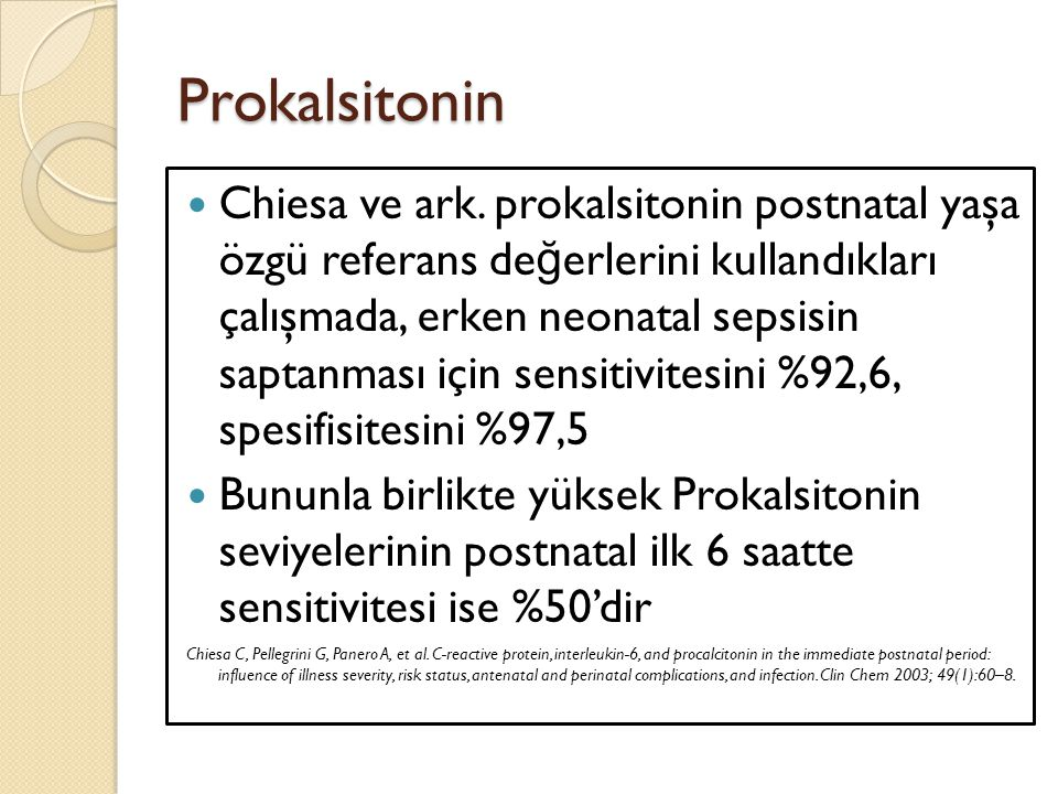Prokalsitonin