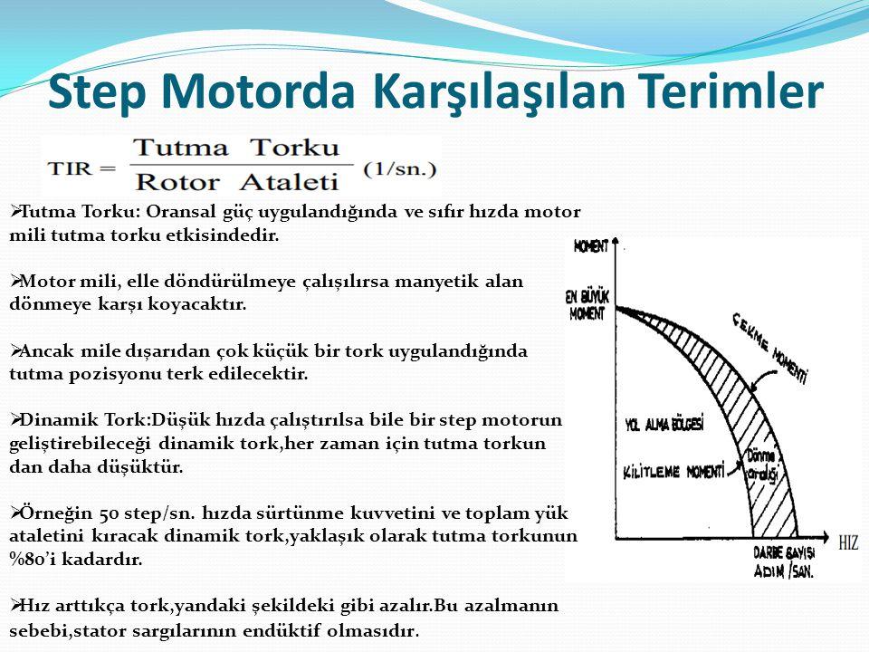Step Motorda Karşılaşılan Terimler