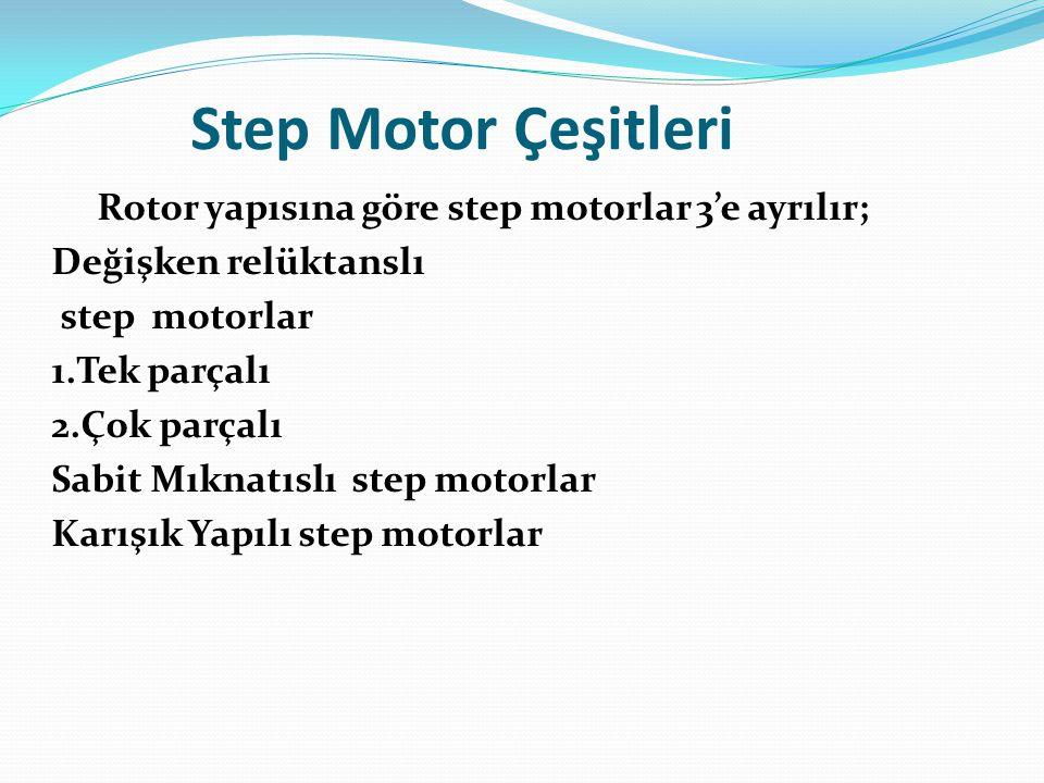 Step Motor Çeşitleri