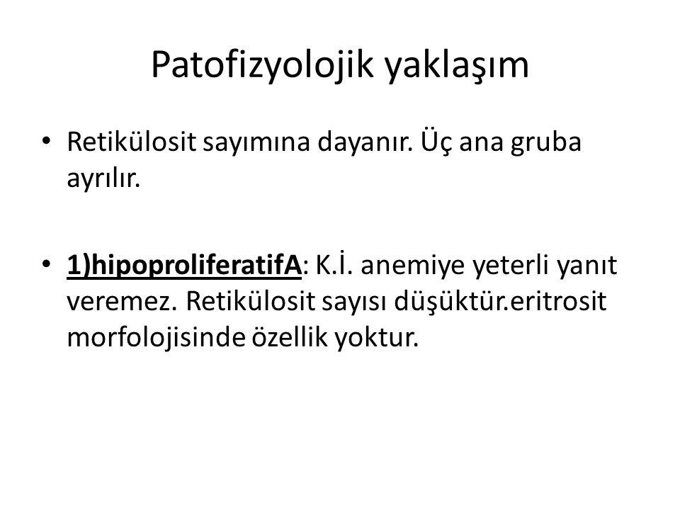 Patofizyolojik yaklaşım