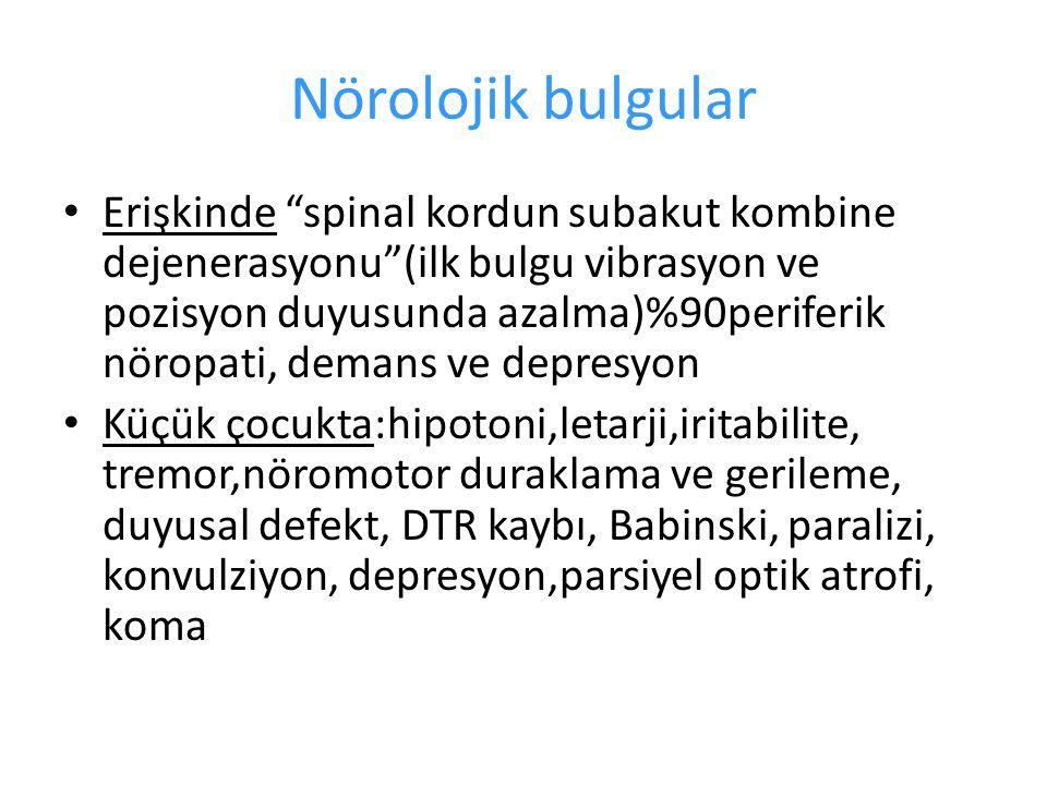 Nörolojik bulgular