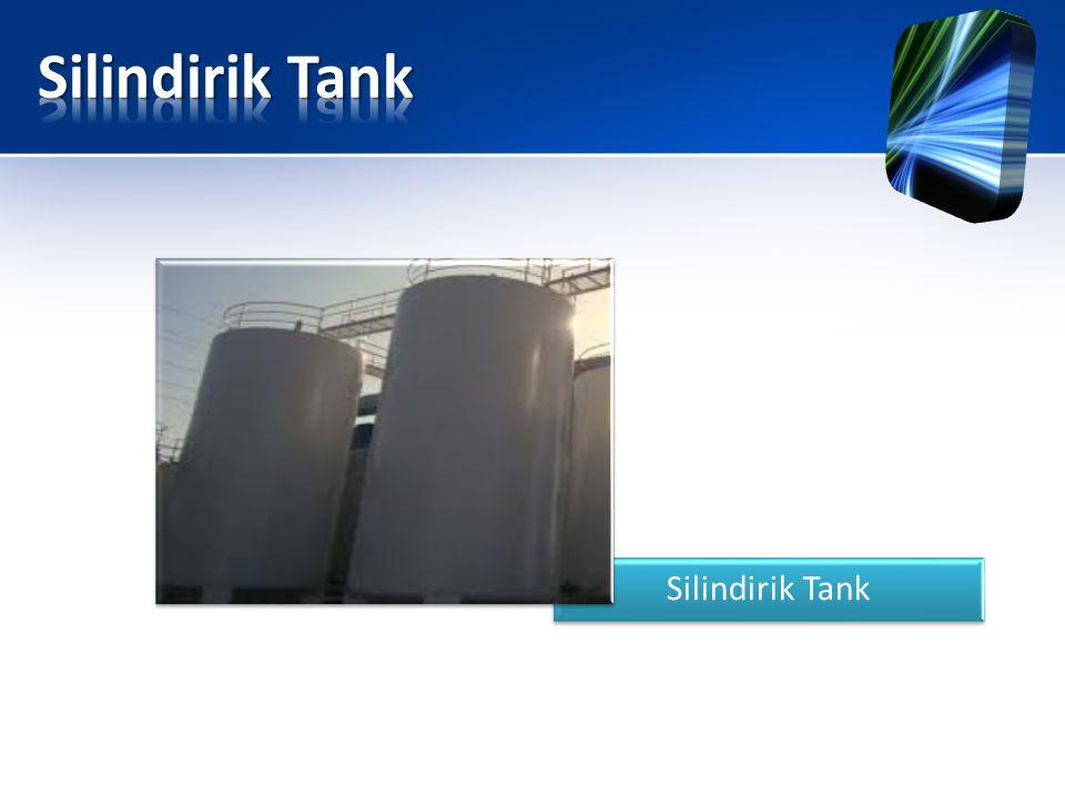 Silindirik Tank Silindirik Tank