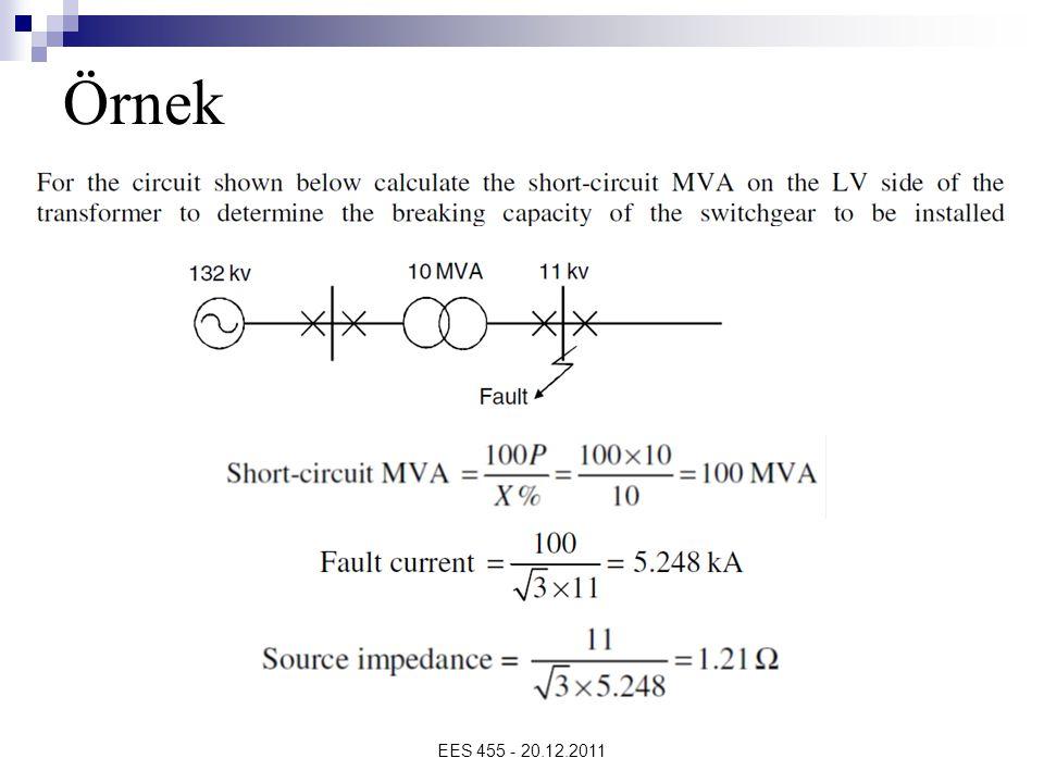 Örnek EES 455 - 20.12.2011