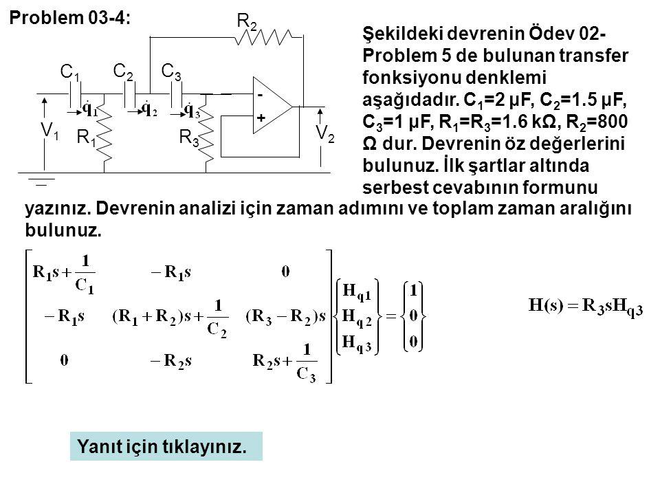 Problem 03-4: - + C3. C2. C1. R3. R1. R2. V2. V1.