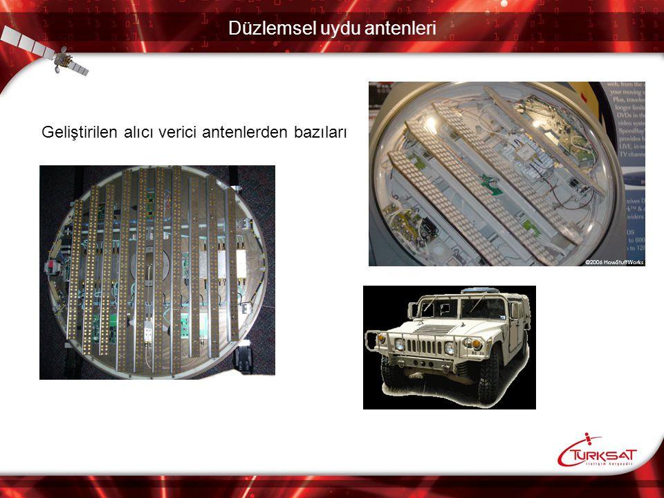 Düzlemsel uydu antenleri