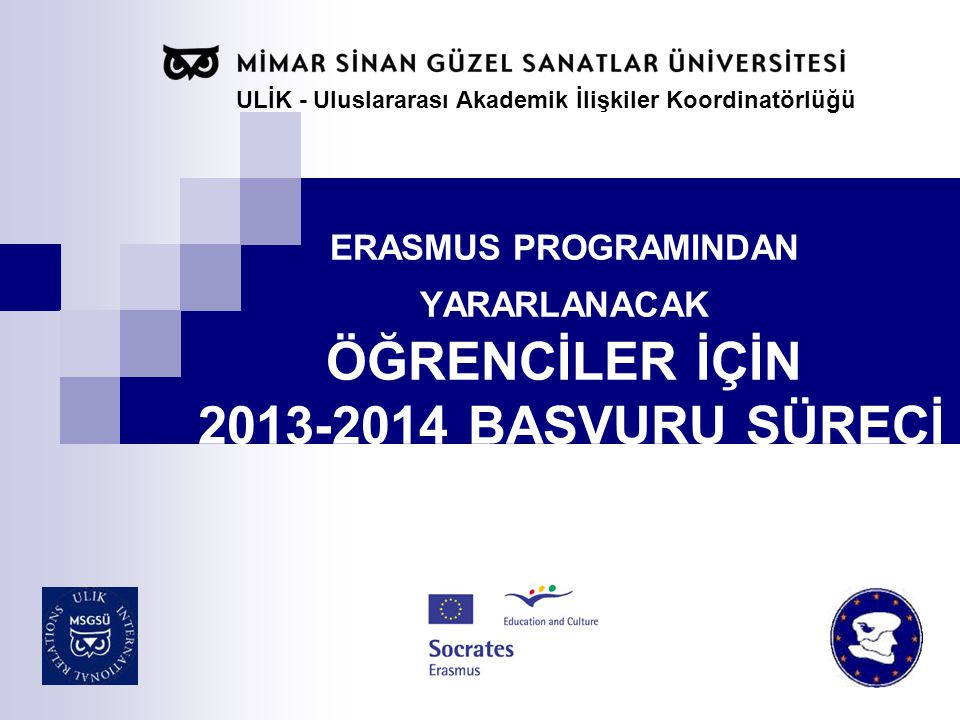 ULİK - Uluslararası Akademik İlişkiler Koordinatörlüğü