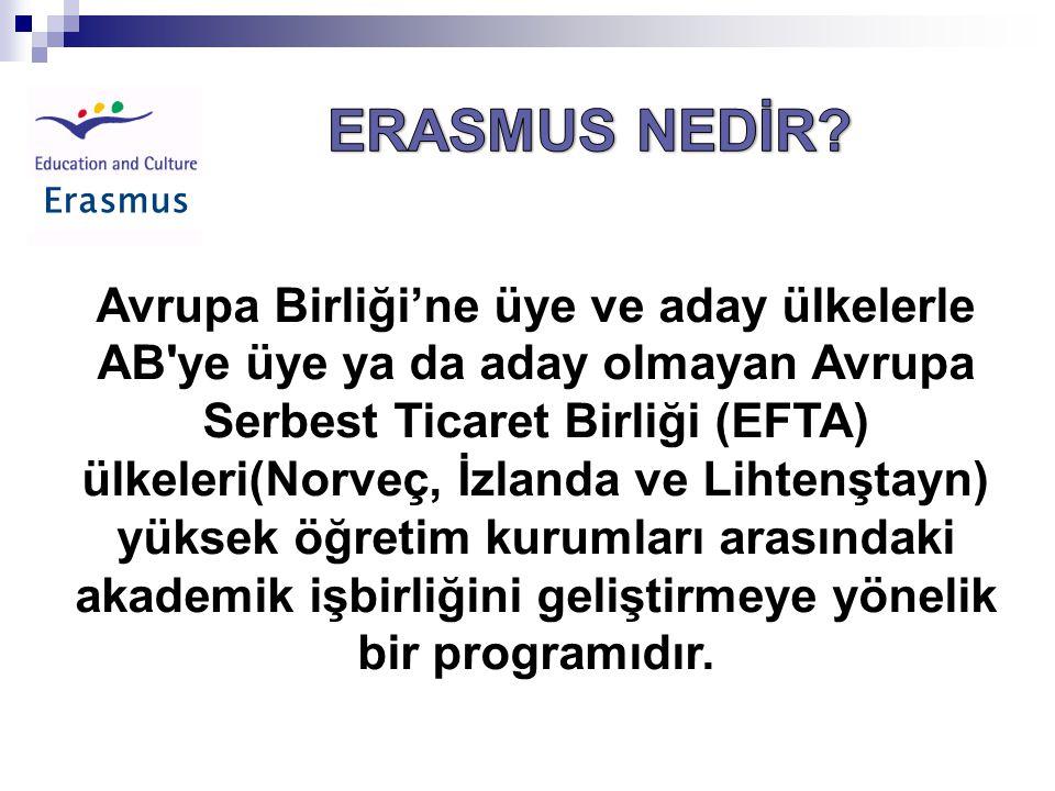 Erasmus ERASMUS NEDİR