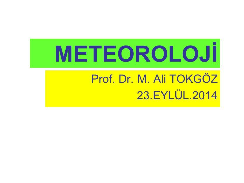 Prof. Dr. M. Ali TOKGÖZ 23.EYLÜL.2014
