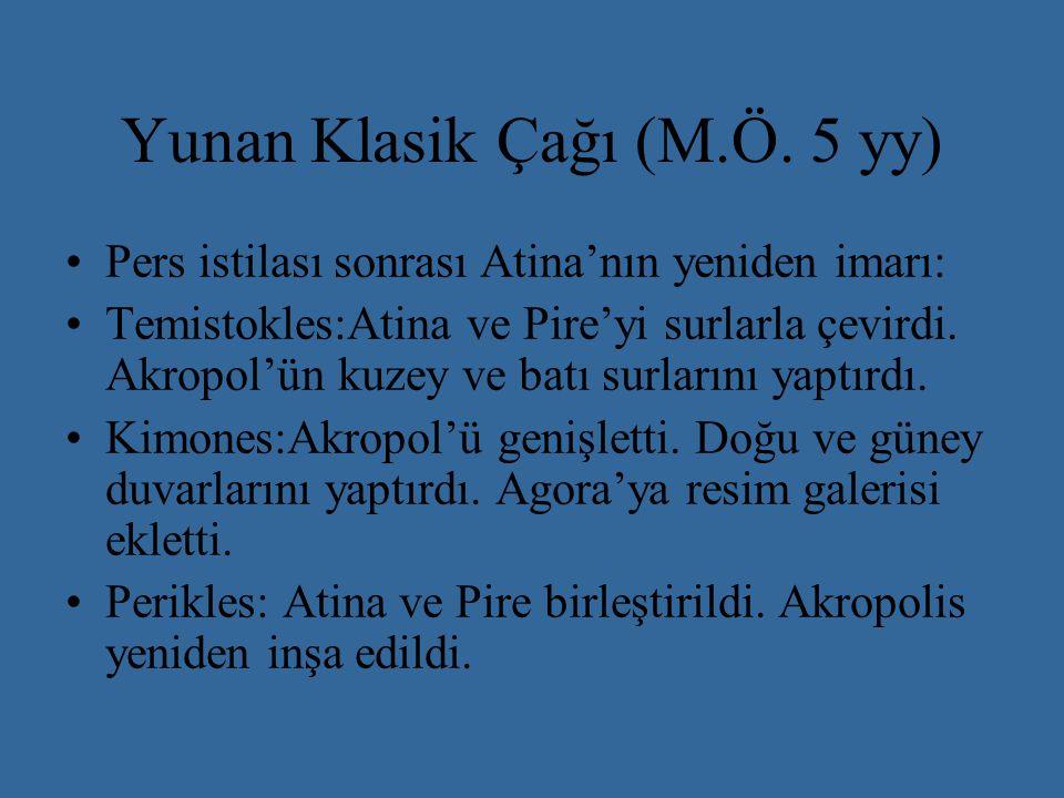 Yunan Klasik Çağı (M.Ö. 5 yy)