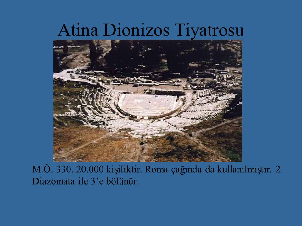 Atina Dionizos Tiyatrosu