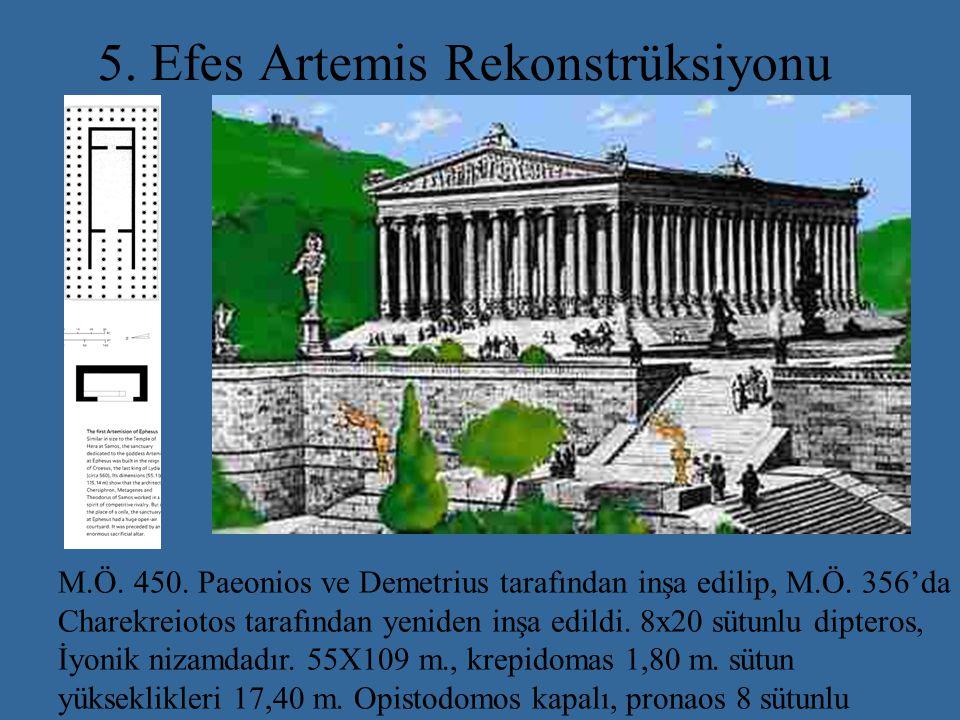 5. Efes Artemis Rekonstrüksiyonu