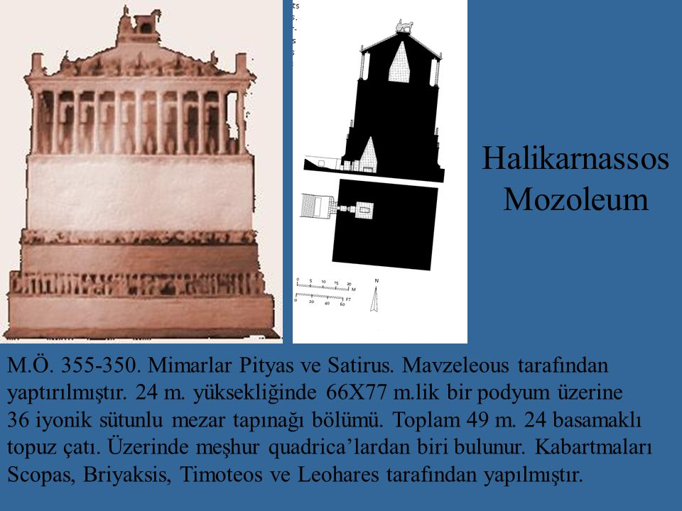 Halikarnassos Mozoleum