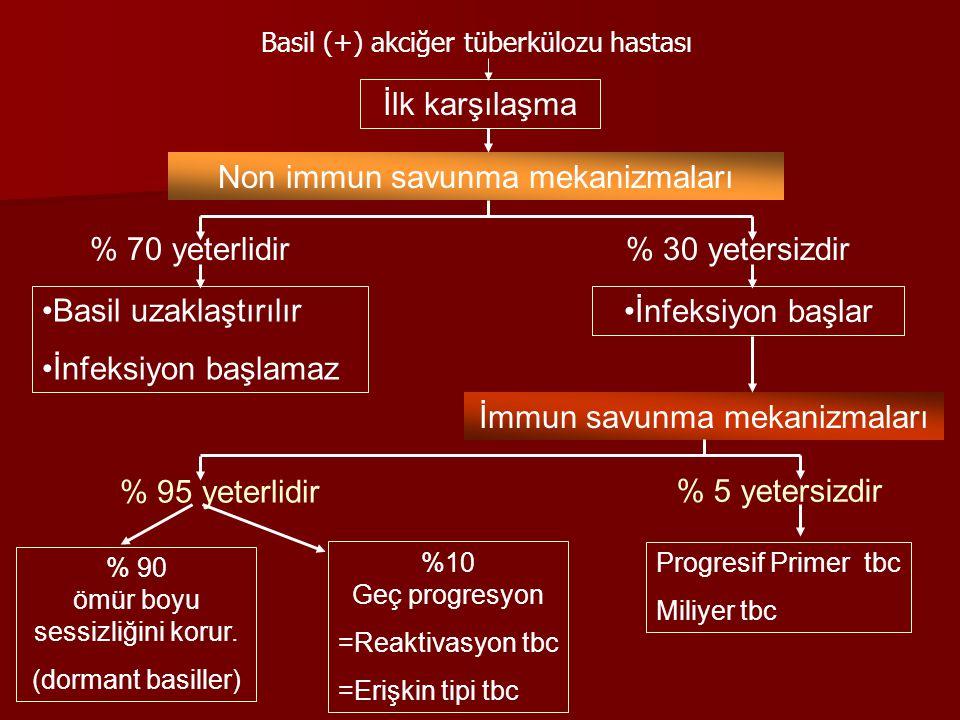 Non immun savunma mekanizmaları