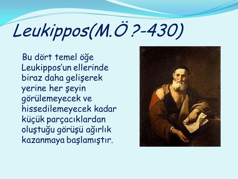 Leukippos(M.Ö -430)