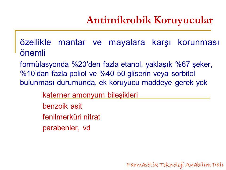 Antimikrobik Koruyucular