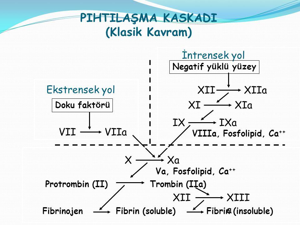 PIHTILAŞMA KASKADI (Klasik Kavram)