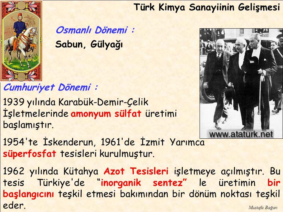 Türk Kimya Sanayiinin Gelişmesi